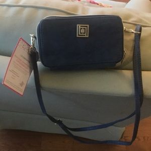 Crossbody with phone charger